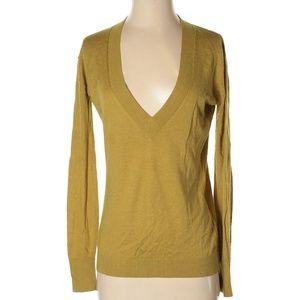 NWOT J.CREW Silk Cashmere Blend V-Neck Sweater